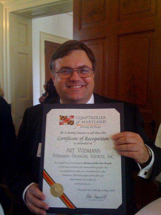 Art B O Yr Award